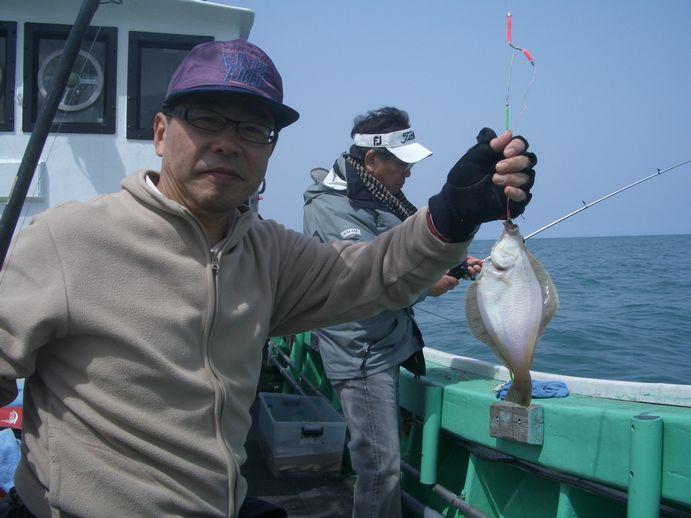 小樽沖 カレイ