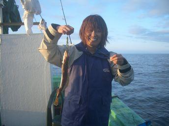 小樽沖ヒラメ釣り