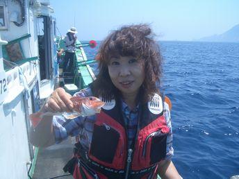 小樽沖 カレイ釣り