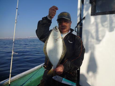 小樽 小樽沖 カレイ&ヒラメ釣り