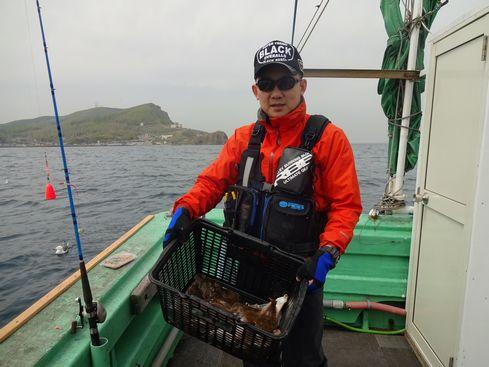 小樽 小樽沖 カレイ釣り