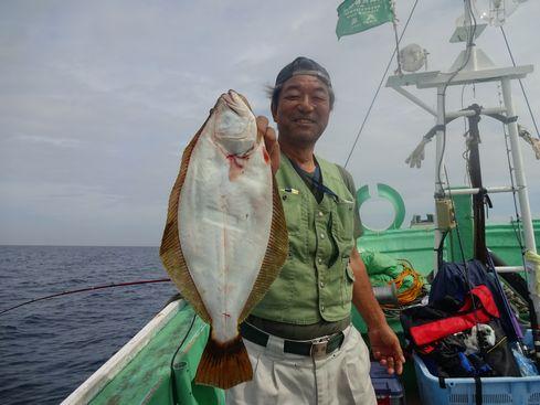 小樽 小樽沖 ヒラメ釣り