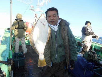 小樽沖 ヒラメ釣り